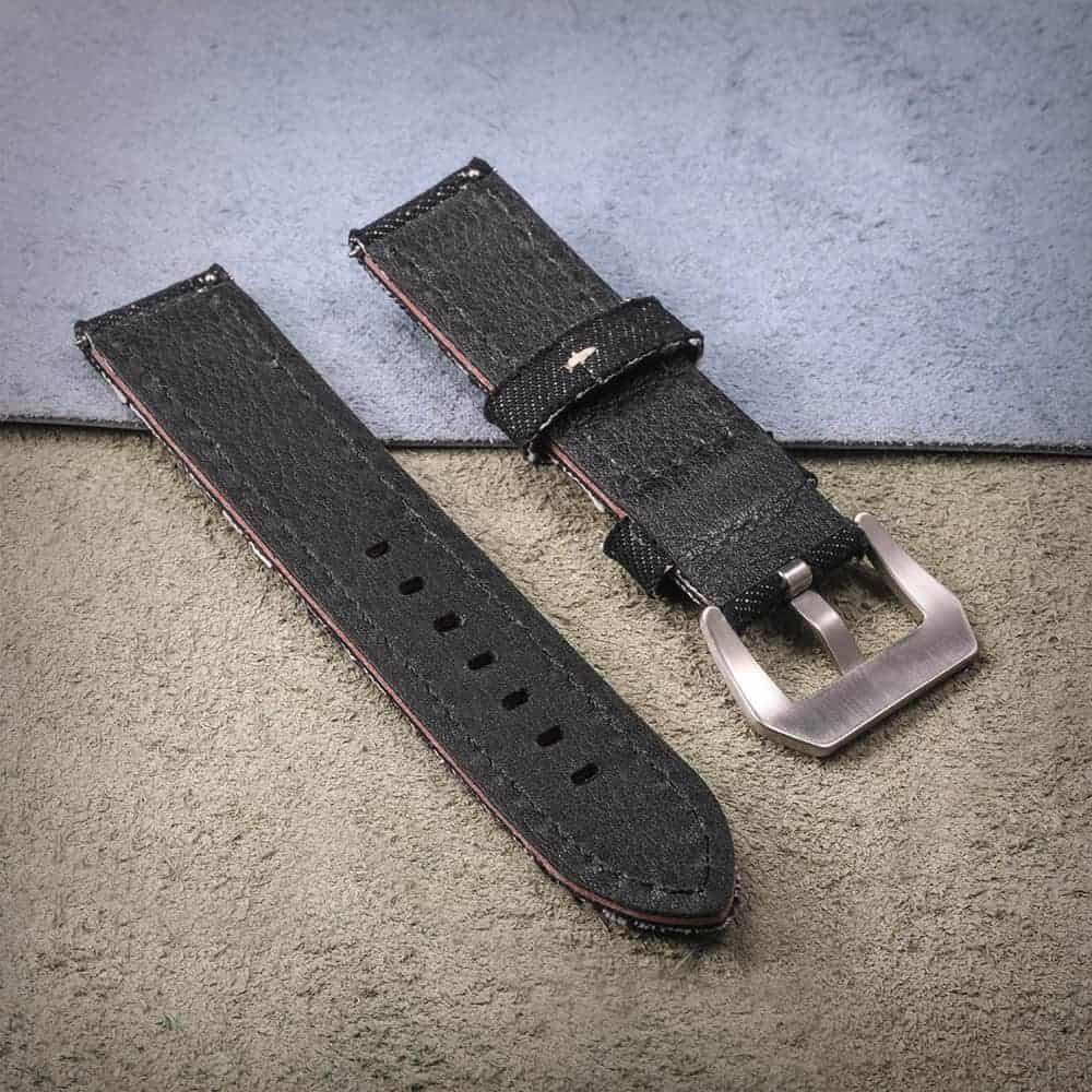 Black | Canvas Watch Straps Quick Release