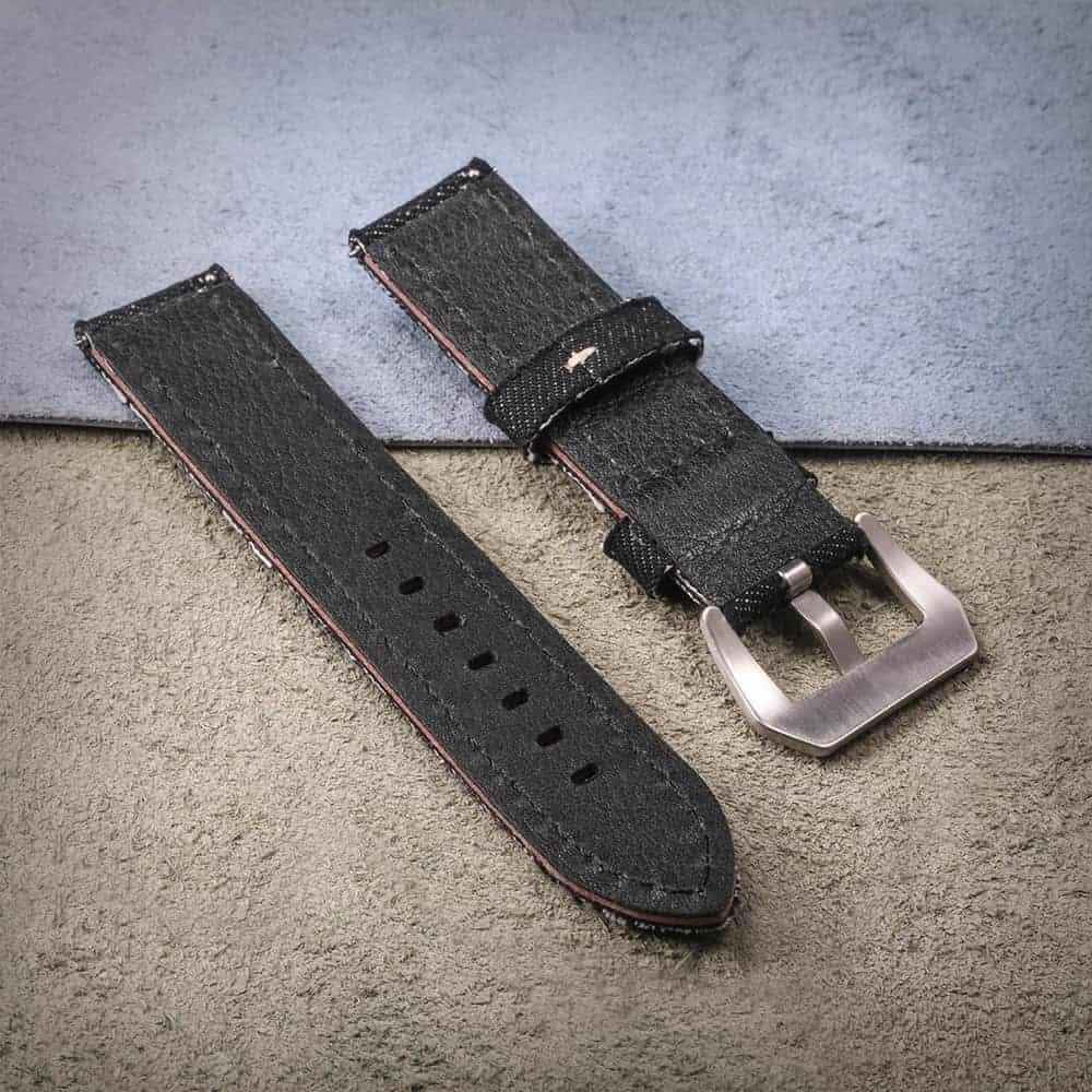 Black | Canvas Watch Straps Quick Release
