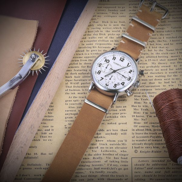 Brown | Leather NATO Watch Straps