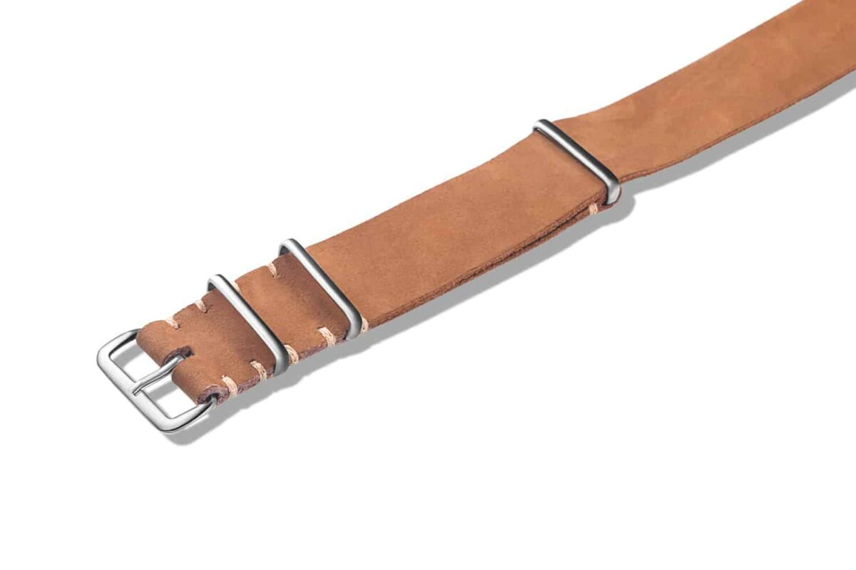 Brown   Leather NATO Watch Straps