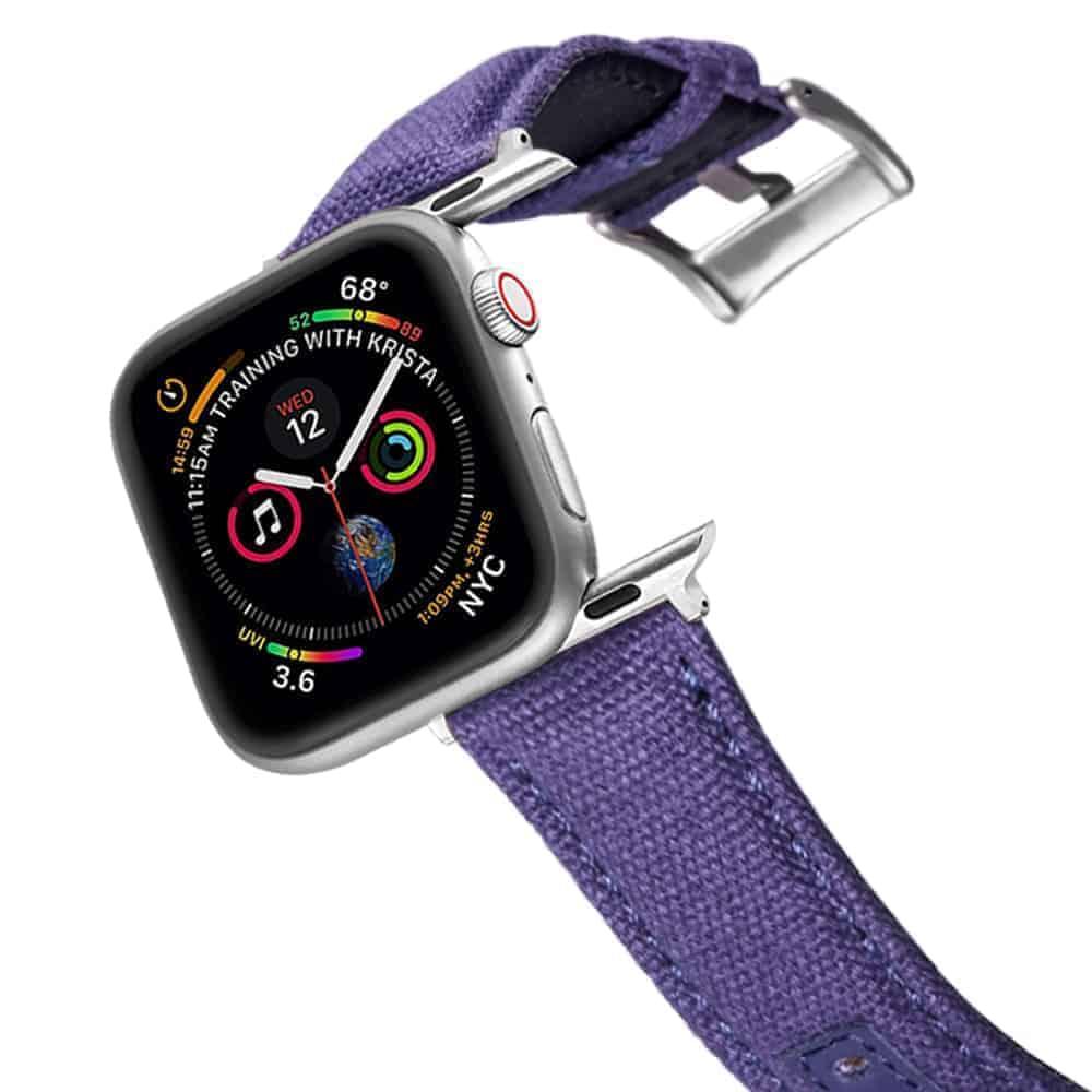 Apple Watch Bands | Canvas Watch Straps | Blue