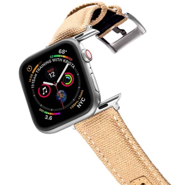 Apple Watch Bands | Canvas Watch Straps | KHAKI