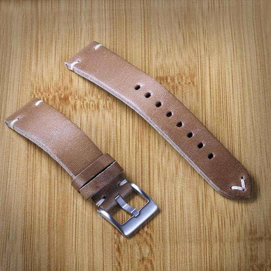 Green | Horween Leather Watch Bands Quick Release