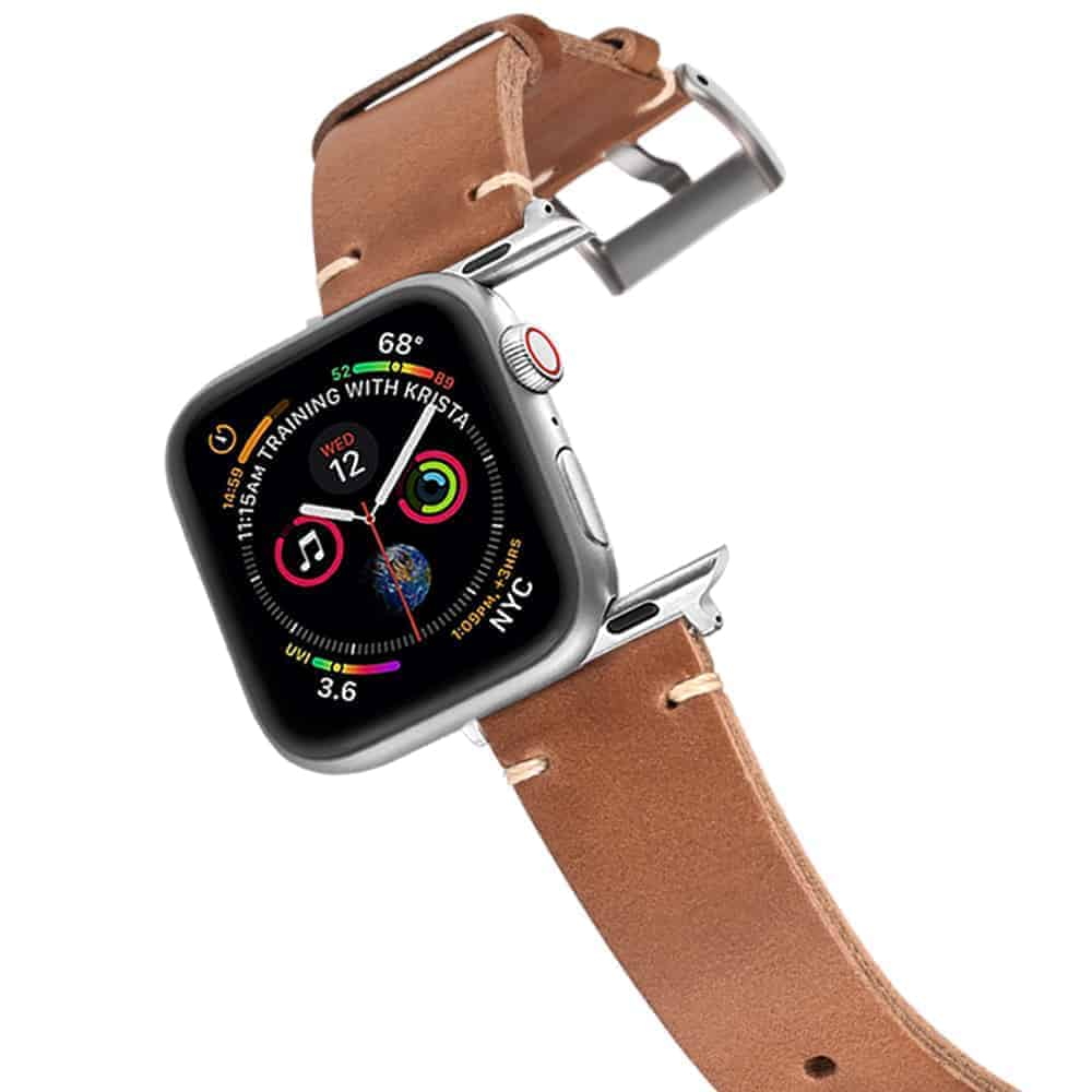 Apple Watch Bands   Horween Leather Watch Straps   Natural