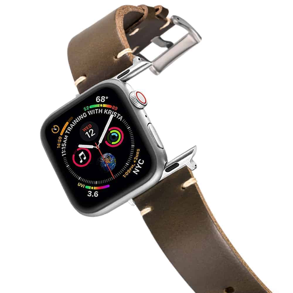 Apple Watch Bands | Horween Leather Watch Straps | Green