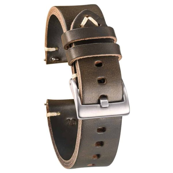 WITHINGS NOKIA ACTIVITE AND STEEL HR | Horween Leather Watch Bands | Green