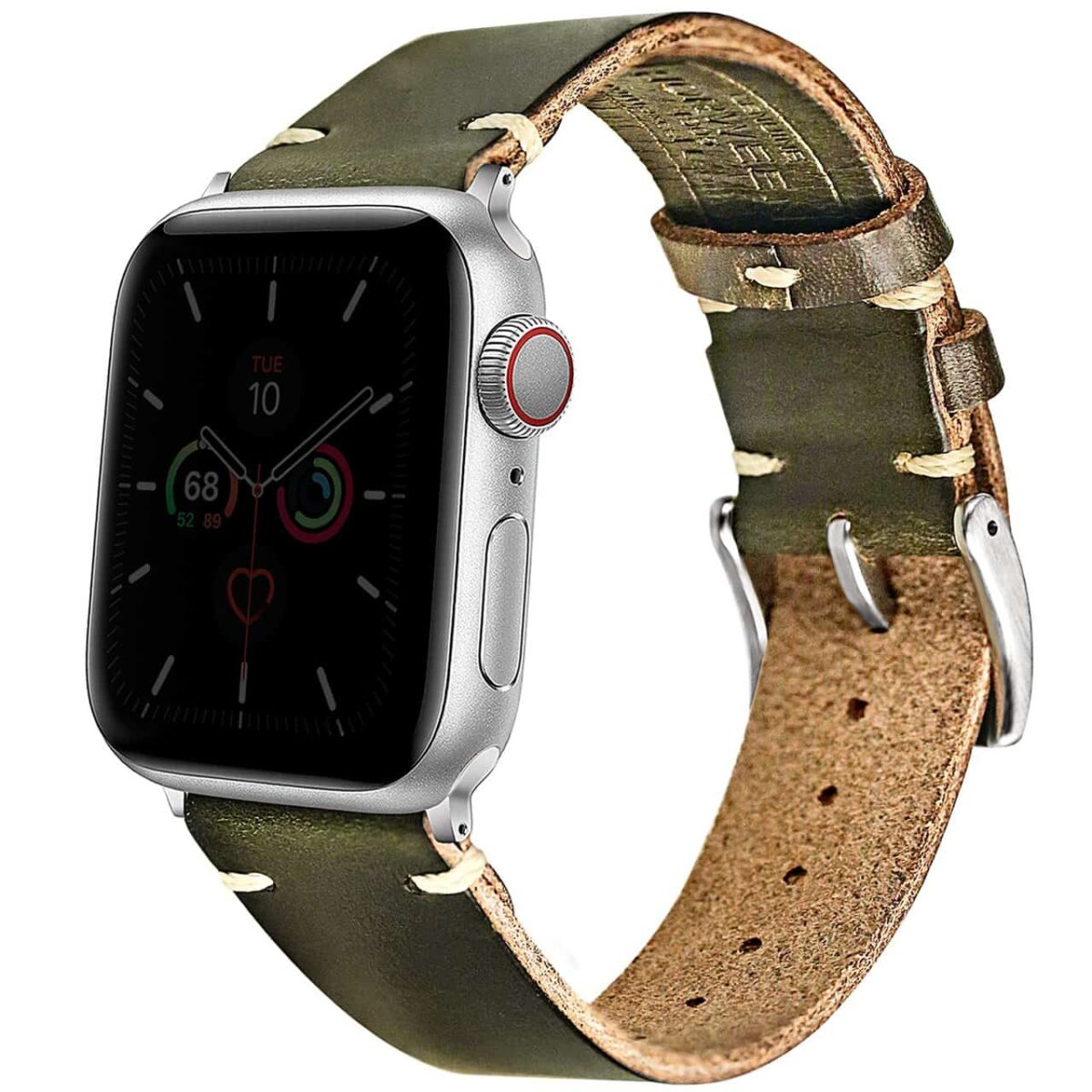 Apple Watch Bands | Green Horween Leather Straps | Hemsut