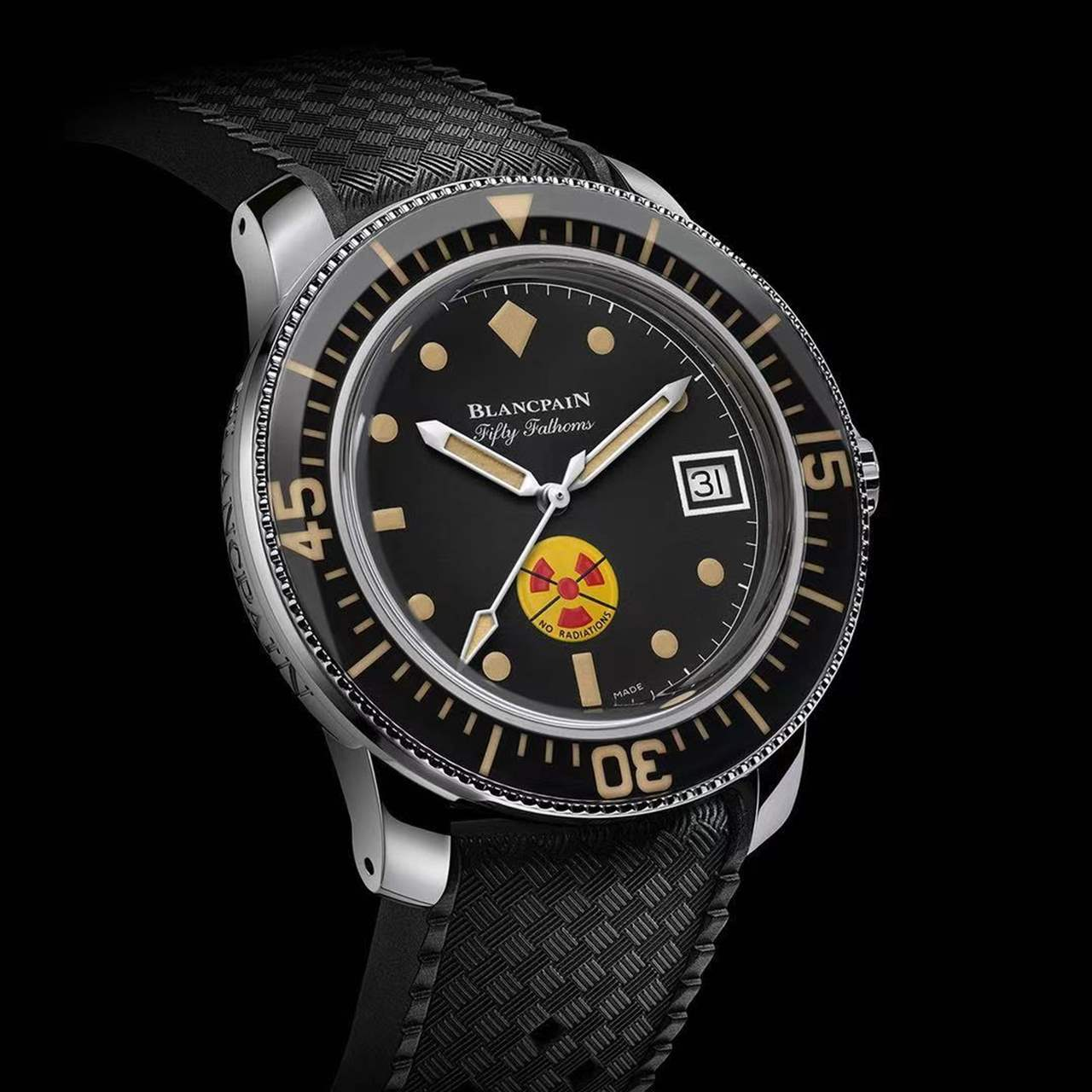 Blancpain Tribute To Fifty Fathoms No Rad Review
