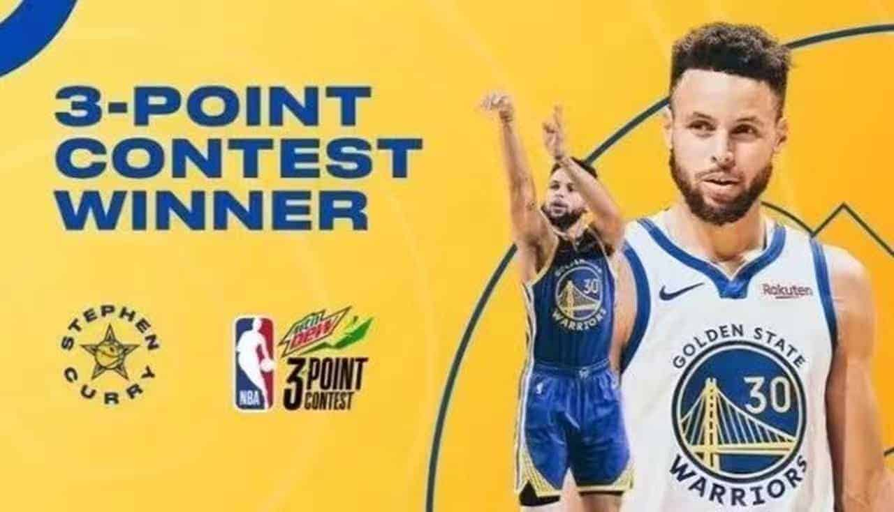 Stephen Curry Wins 2021 NBA All-Star 3-Point Contest!