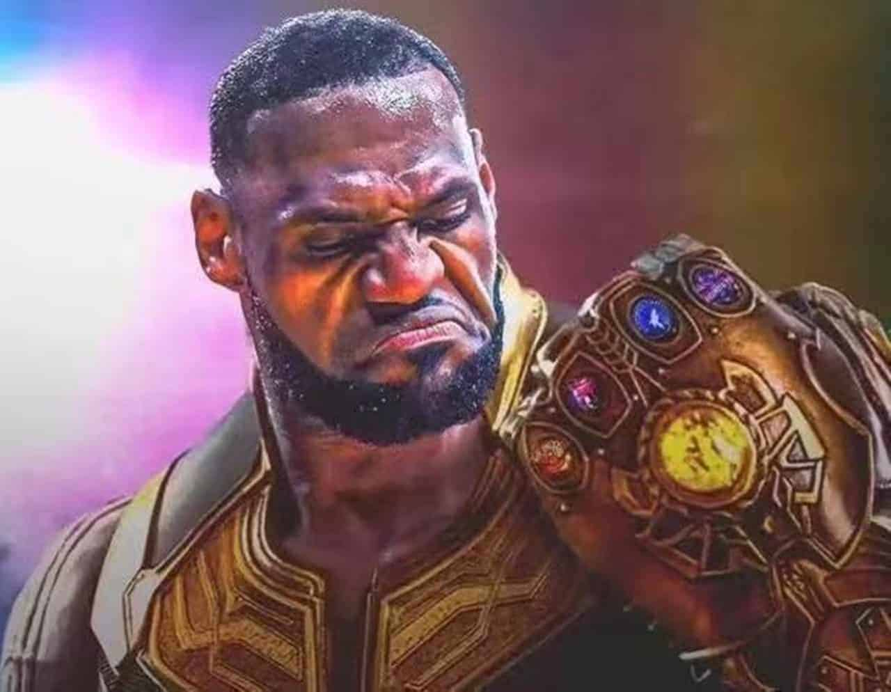 LeBron James – The NBA 'Thanos' Gets Injured Today