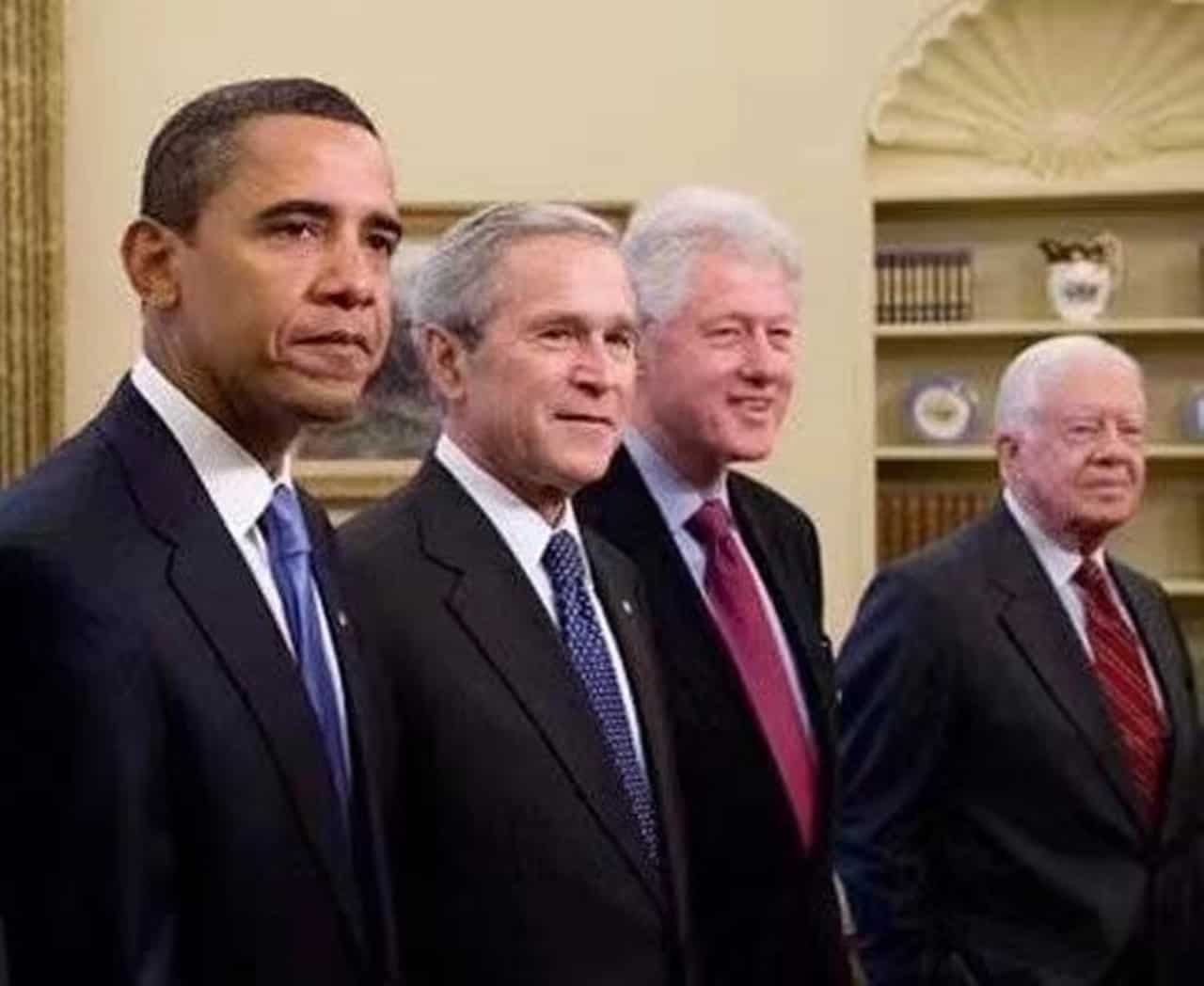 Four Former US Presidents Promote COVID-19 Vaccination Campaign