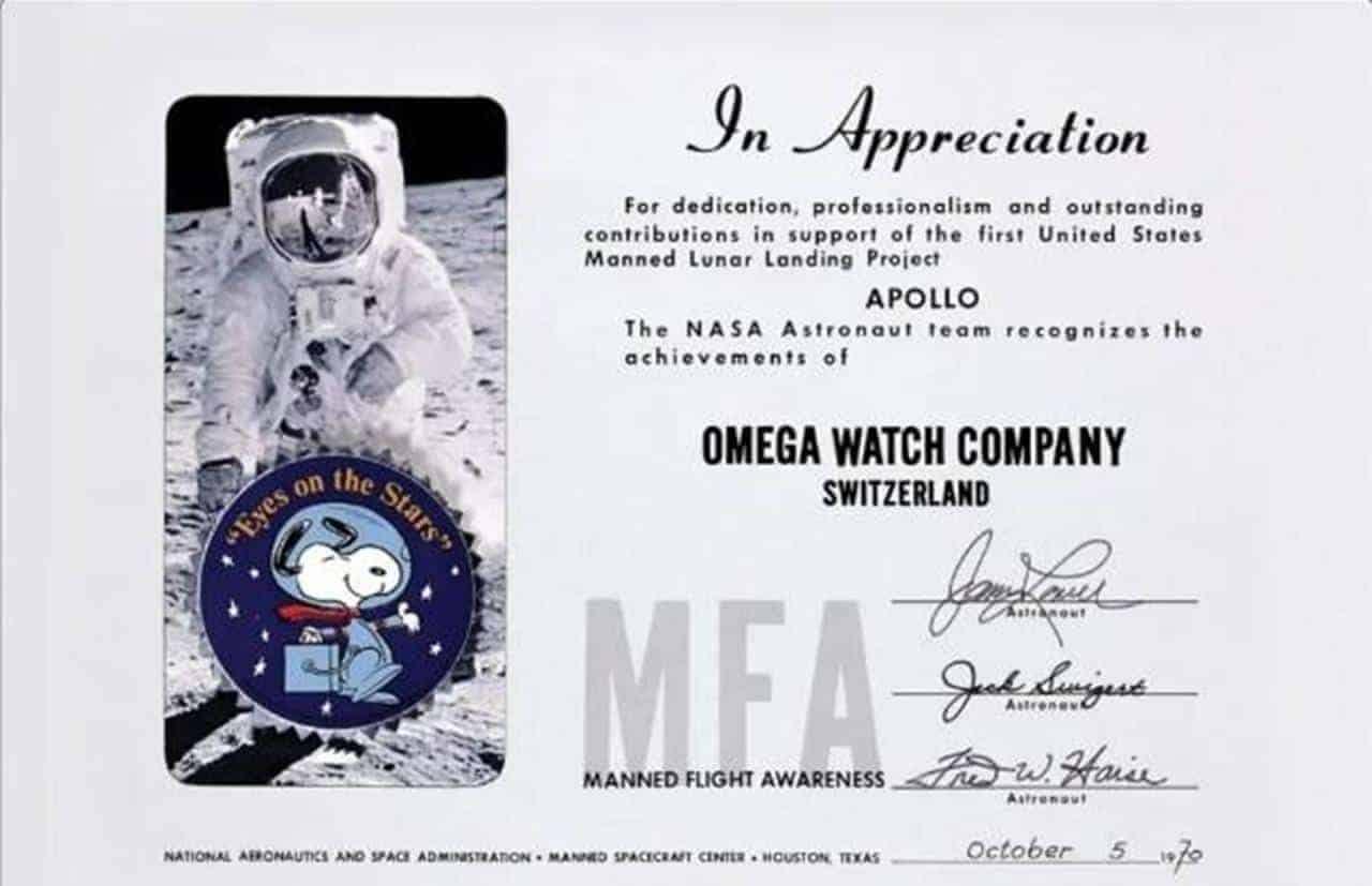 Which Watches OMEGA and NASA Brought to the Moon?