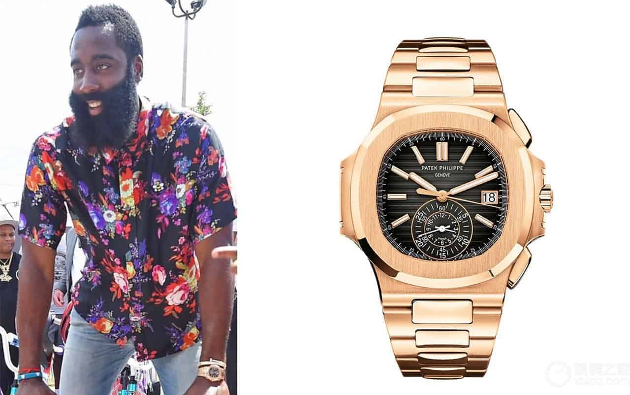 James Harden Watch Jewlry Collection
