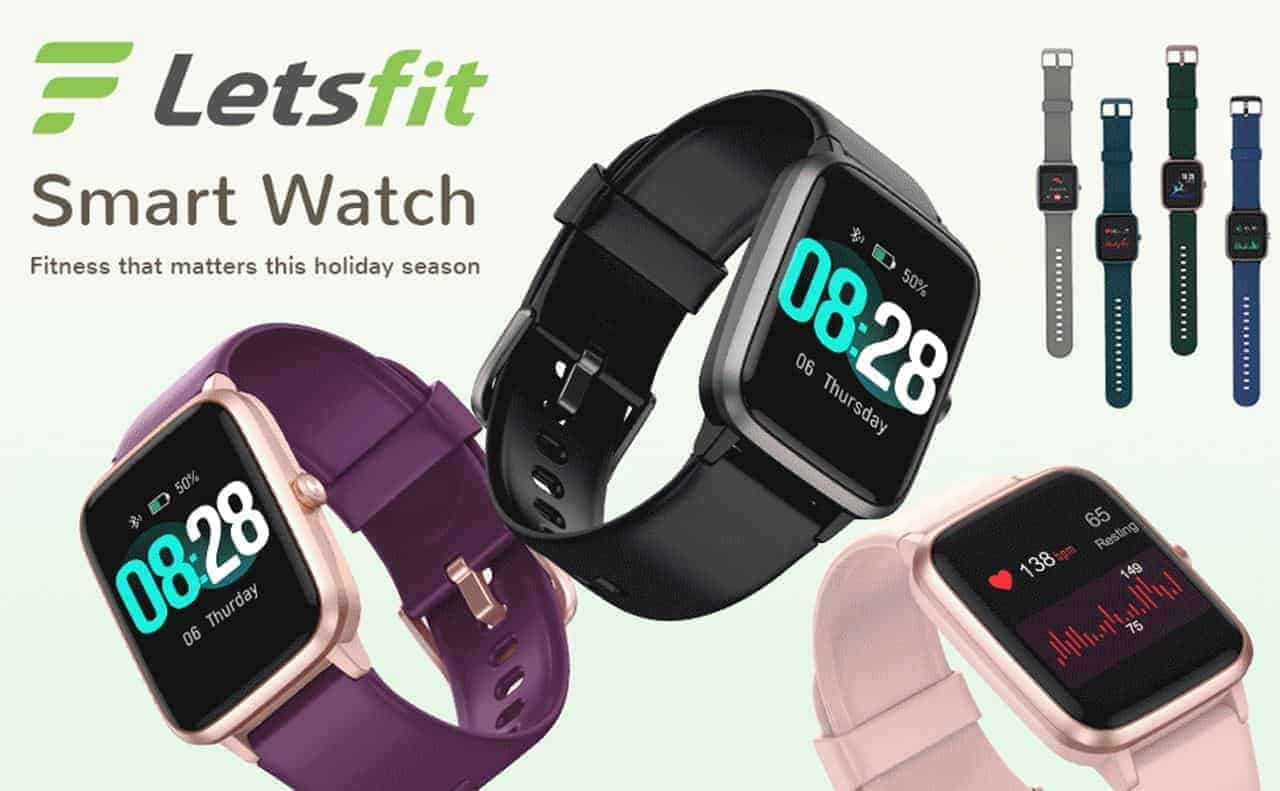 Letsfit Smart Watch Review and Watch Band Recommend (2021 Updated)